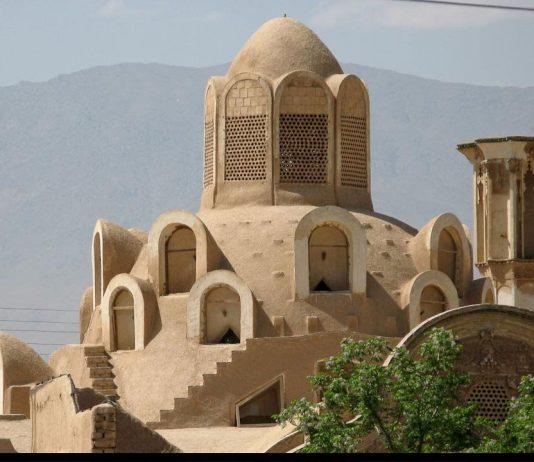 الفن المعماري الايراني .. العبارة الهوائية