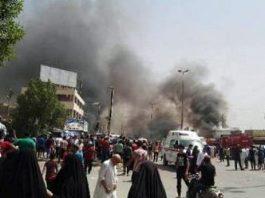 انفجار انتحاري داخل قصر العدل بدمشق