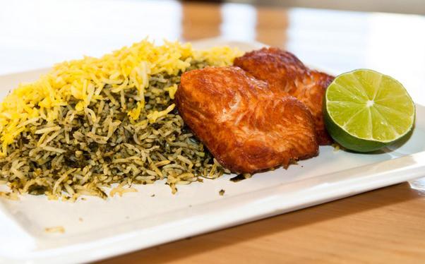 رز سمك من الوجبات التقليدية في عيد نوروز