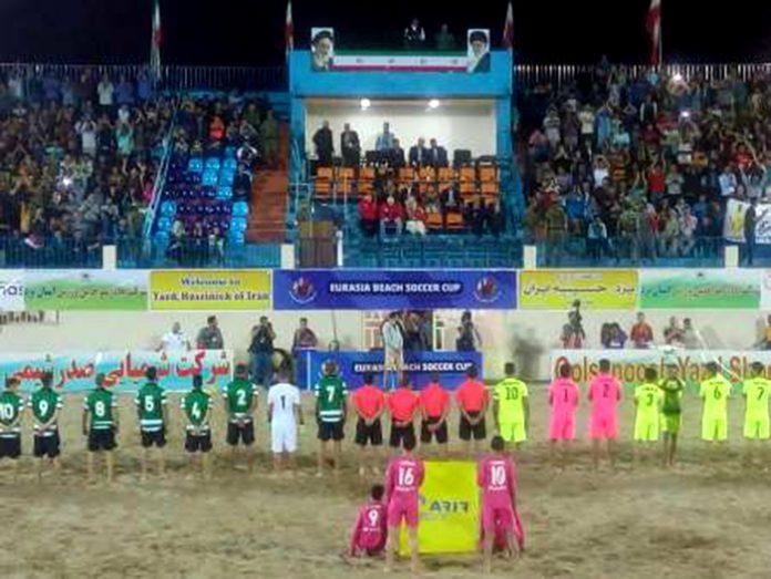 الكرة الشاطئية.. ايران تحرز بطولة اندية العالم