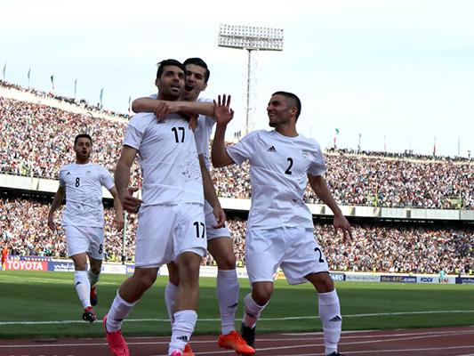 ايران قاب قوسین من بلوغ مونديال روسيا بعد فوزها علي الصين