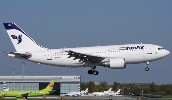 ثالث طائرة ايرباص فرنسية جديدة تصل طهران