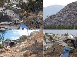 اثيوبيا ..تلة زبالة متراكمة منذ ٥۰ سنة تنزلق وتقتل ٥۰
