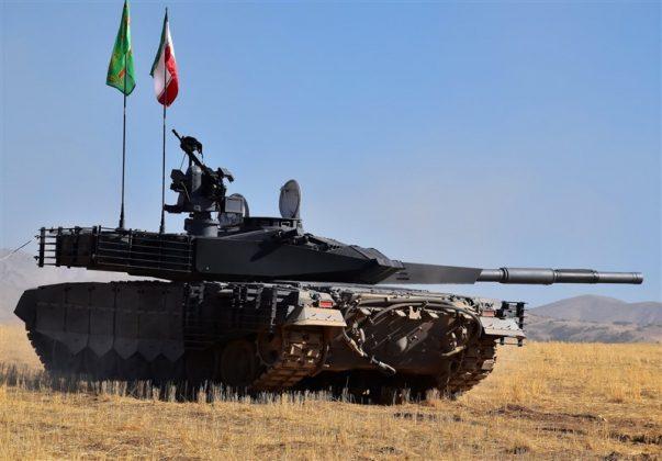 مواصفات وصوراول دبابة ايرانية محلية الصنع (11)