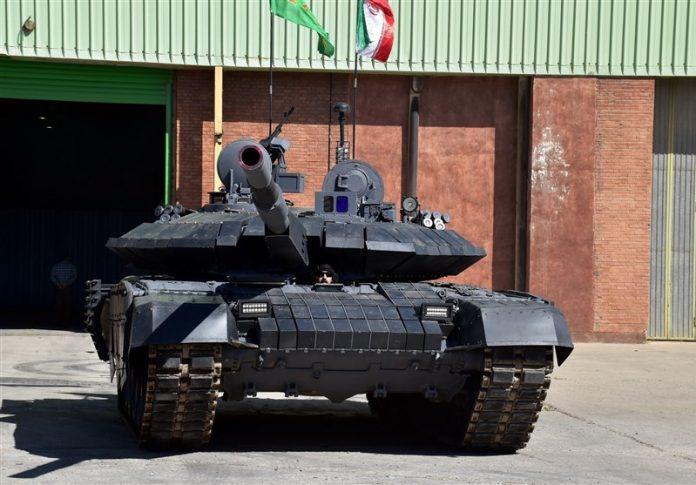 مواصفات وصوراول دبابة ايرانية محلية الصنع (2)