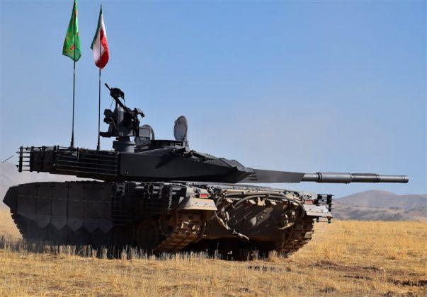 مواصفات وصوراول دبابة ايرانية محلية الصنع (6)