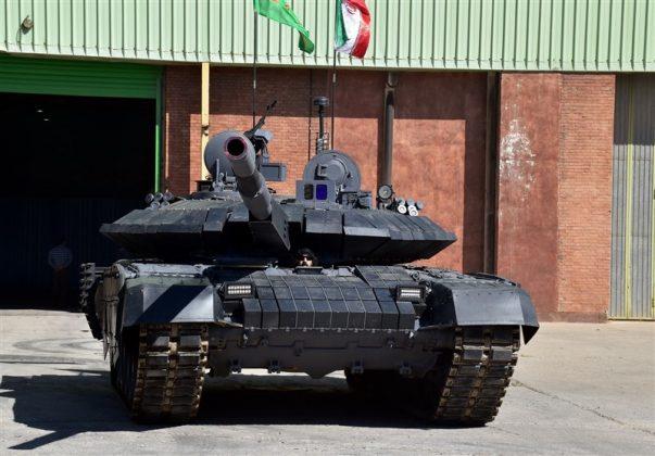 مواصفات وصوراول دبابة ايرانية محلية الصنع (9)