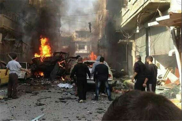 Blasts Damascus