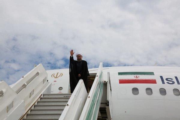 روحاني في كردستان لافتتاح 21 مشروعا