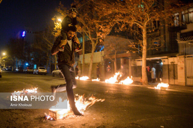 Iranian People Celebrate Persian Fire Festival (12)