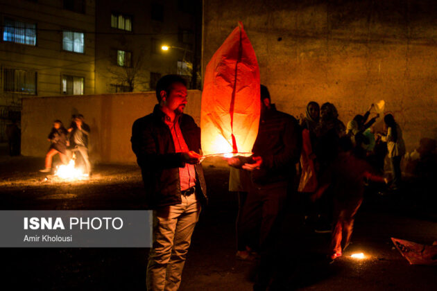 Iranian People Celebrate Persian Fire Festival (15)