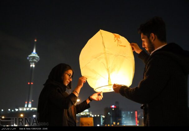 Iranian People Celebrate Persian Fire Festival(16)