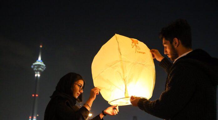 Iranian People Celebrate Persian Fire Festival(16)