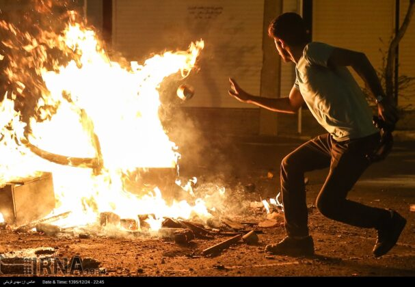 Iranian People Celebrate Persian Fire Festival (17)