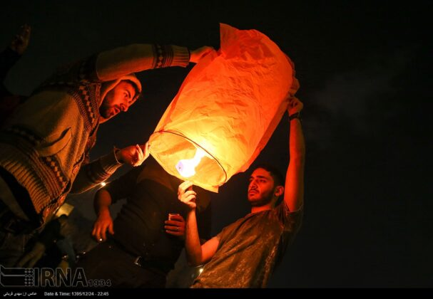 Iranian People Celebrate Persian Fire Festival (18)