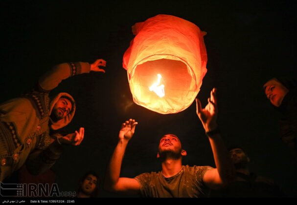 Iranian People Celebrate Persian Fire Festival (19)