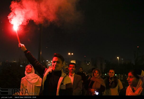 Iranian People Celebrate Persian Fire Festival(21)
