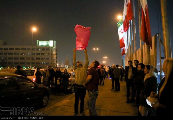 Iranian People Celebrate Persian Fire Festival(23)