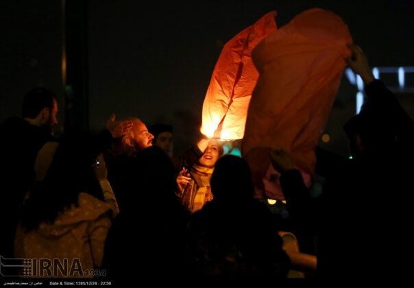 Iranian People Celebrate Persian Fire Festival (27)