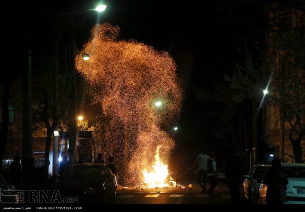 Iranian People Celebrate Persian Fire Festival(29)