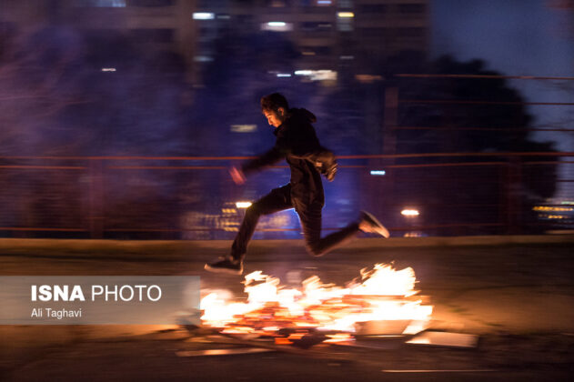 Iranian People Celebrate Persian Fire Festival (3)