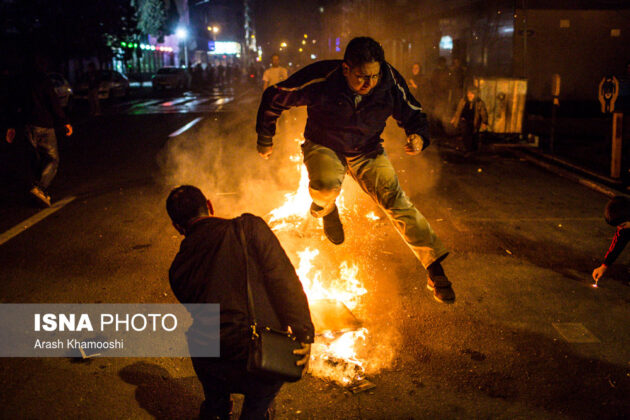 Iranian People Celebrate Persian Fire Festival (8)