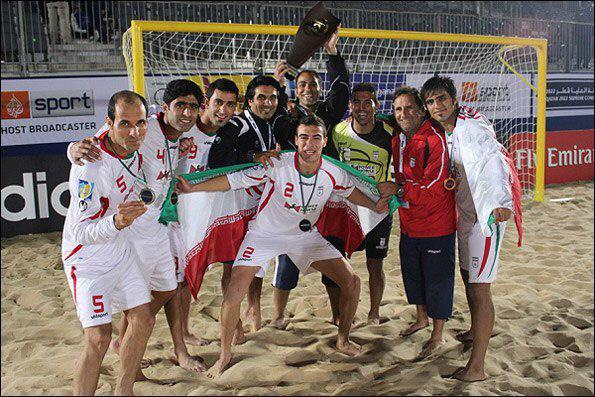 Iran Claims Title in AFC Soccer Beach Championship