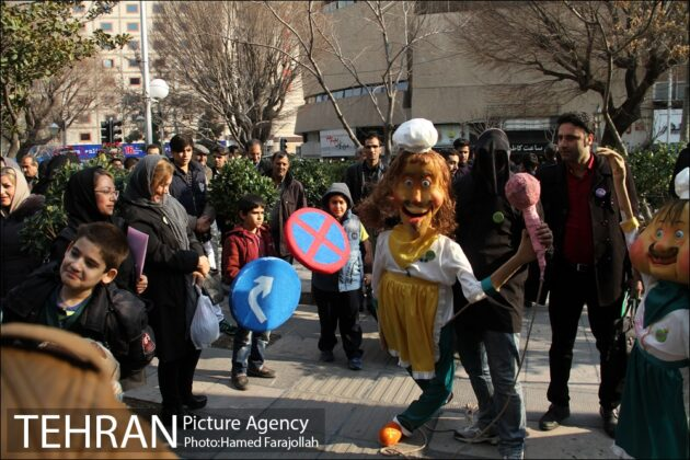 Iranians Running 'No to Road Accidents' Campaign (1)