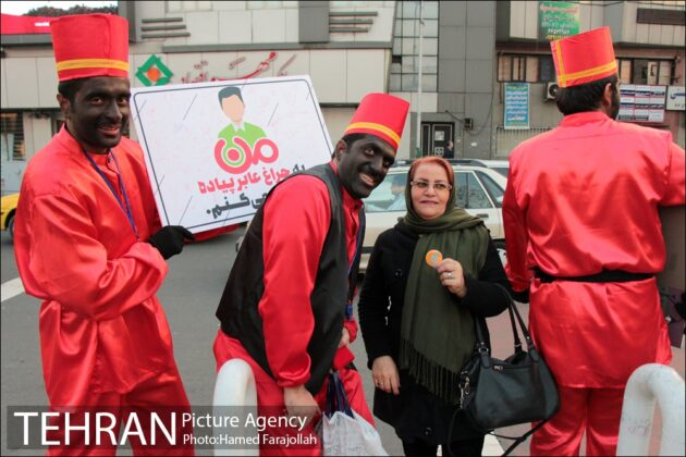 Iranians Running 'No to Road Accidents' Campaign 13
