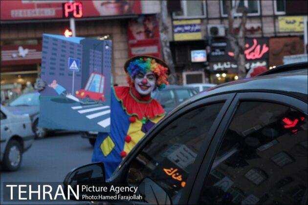 Iranians Running 'No to Road Accidents' Campaign 20
