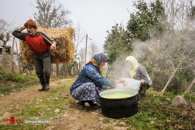 Women in Northern Iran