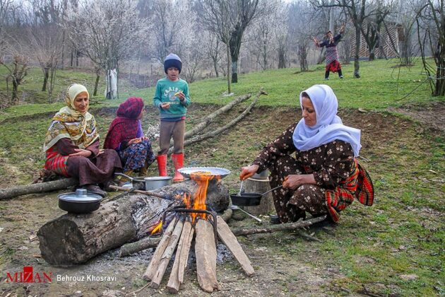 People in Northern Iran Prepare for Nowruz