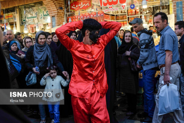 Iranian People Preparing for Nowruz(18)