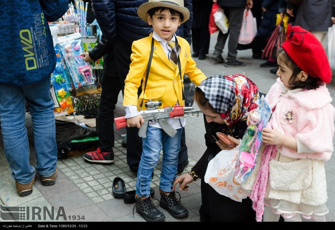 Iranian People Preparing for Nowruz (27)