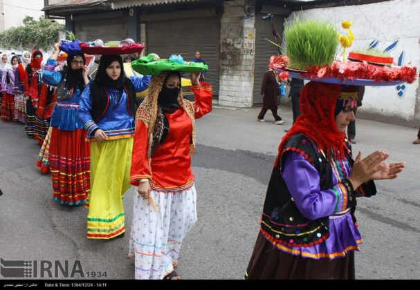 'Nowruz Khani', Tradition to Show Gratitude towards Spring's Arrival (3)