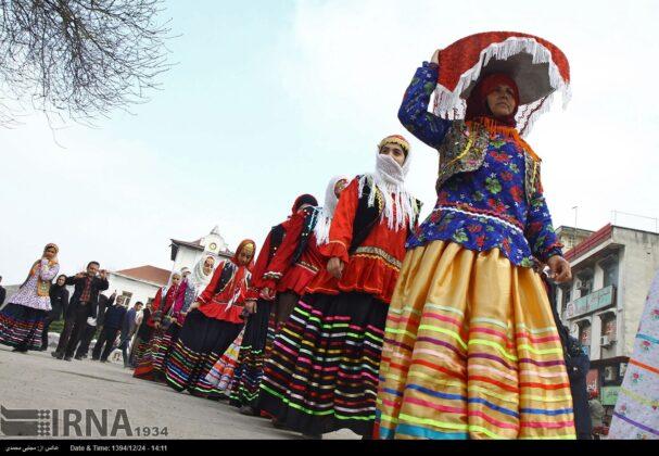 Women in Northern Iran Celebrating Persian New Year