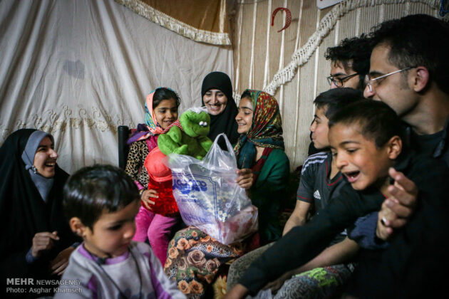 Iranian Charity Brings Smile to Faces of Immigrant Family (23)