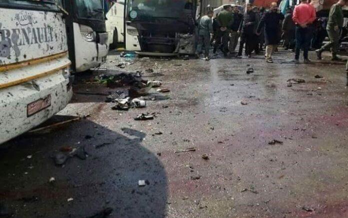 Damascus Terrorist Attacks