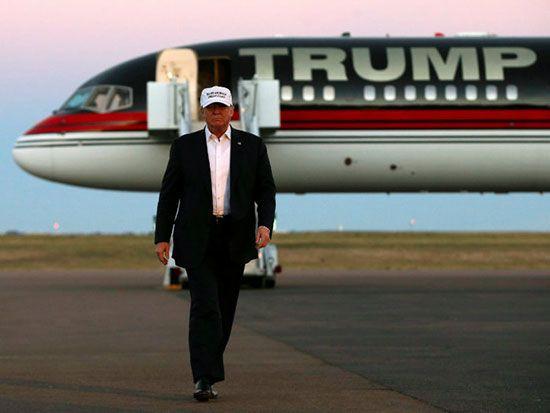 ثروت دونالد ترامپ