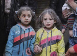 اطفال سوریا، تارة وجوههم مشوهة واخرى طبيعية