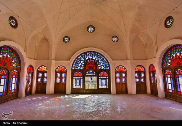 كاشان .. دار الطباطبائيين تحفة معمارية من العهد القاجاري (10)