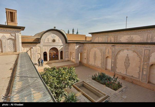 كاشان .. دار الطباطبائيين تحفة معمارية من العهد القاجاري (14)