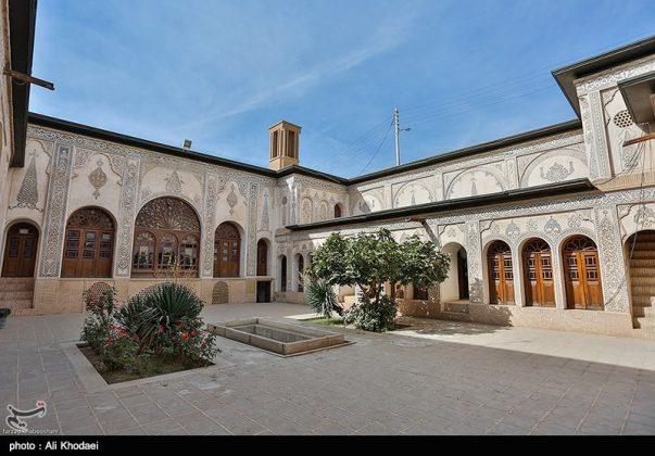 كاشان .. دار الطباطبائيين تحفة معمارية من العهد القاجاري (17)