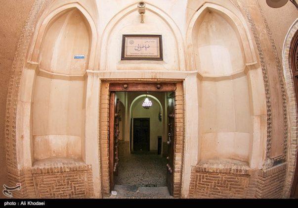 كاشان .. دار الطباطبائيين تحفة معمارية من العهد القاجاري (18)