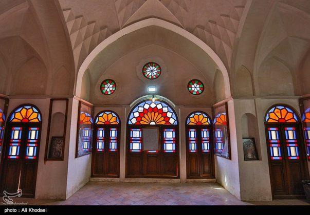 كاشان .. دار الطباطبائيين تحفة معمارية من العهد القاجاري (20)