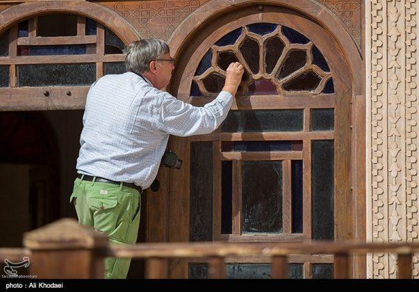 كاشان .. دار الطباطبائيين تحفة معمارية من العهد القاجاري (21)