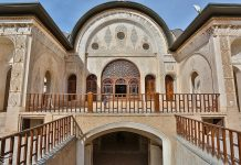 كاشان .. دار الطباطبائيين تحفة معمارية من العهد القاجاري (22)