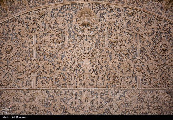 كاشان .. دار الطباطبائيين تحفة معمارية من العهد القاجاري (23)