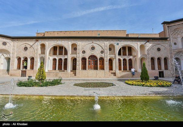 كاشان .. دار الطباطبائيين تحفة معمارية من العهد القاجاري (26)