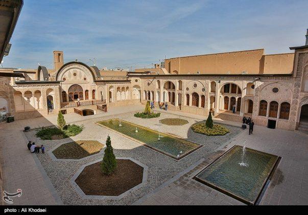كاشان .. دار الطباطبائيين تحفة معمارية من العهد القاجاري (29)
